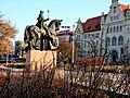 Pomnik Króla Kazimierza III Wielkiego założyciela miasta Bydgoszcz. - panoramio.jpg