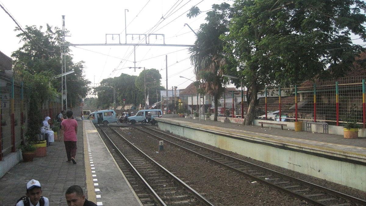 Stasiun Pondok Jati - Wikipedia bahasa Indonesia ...