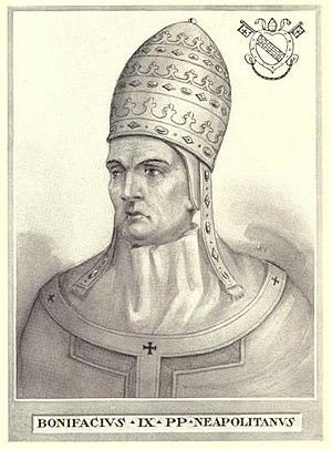 Cybo - Pope Boniface IX.