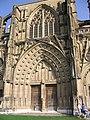 Porte principale Église Saint-Antoine-l'Abbaye.jpg