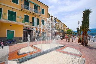 Porto Azzurro Comune in Tuscany, Italy
