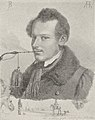 Porträt Rudolf Jordan, Kohlezeichnung von Adolf Henning in 1834.jpg