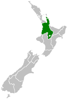 Waikato region in New Zealands North Island