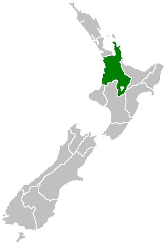 Waikato - Image: Position of Waikato Region