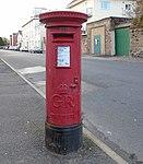 Post box on Albion Street, New Brighton.jpg