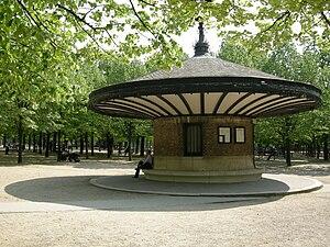 Poste des surveillants du Jardin du Luxembourg