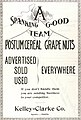 Postum Cereal Grape Nuts (1903) (ADVERT 438).jpeg