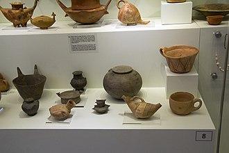 Minoan pottery - Pottery from Lebena, Crete, 3000-2100 BC, AMH
