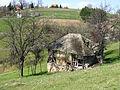 Povlen - zapadna Srbija - mesto Zarožije - Na putu ka Crvenim stjena - Stari katun.jpg