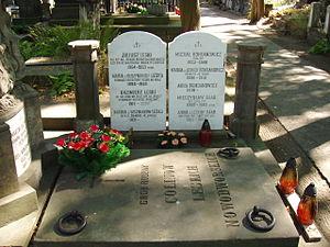 Kazimierz Leski - Leski family tomb, Powązki Cemetery, Warsaw