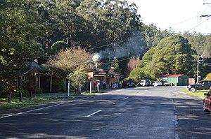 Powelltown, Victoria - Main street