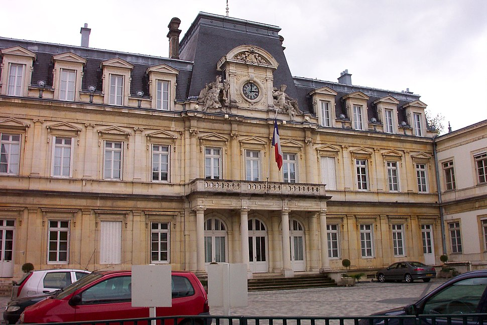 Prefecture building of the Ain department, in Bourg-en-Bresse