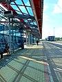 Praha, Letňany, stanice metra Letňany, autobusový terminál II.jpg