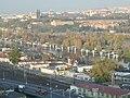 Praha, Radlice, pohled na Císařskou louku z přírodní památky Ctirad.JPG