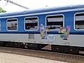 Praha-Libeň, vlak, oddíly pro cestující s dětmi.jpg