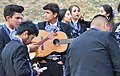 Preparing for Fiestas Patrias Parade, South Park, Seattle, 2017 - 009 - mariachi performers from Wenatchee High School (cropped).jpg