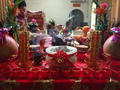 Preparing materials for Jade Emperor Festival.png
