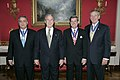 President George W. Bush with Recipients of the Presidential Medal of Freedom.jpg