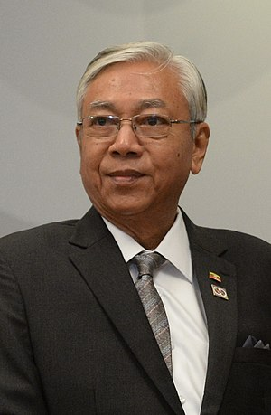 President of Myanmar - Image: President Htin Kyaw