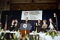 President Ronald Reagan Addresses The Crowd While Attending The 9Th Annual Conservative Political Action Conference Dinner Cpac As Nancy Reagan Looks on at The Mayflower Hotel in Wa - DPLA - 888fc3e4abbe18b41fd021a41def207d.jpg