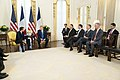 President Trump Meets with the President of France (49164019812).jpg