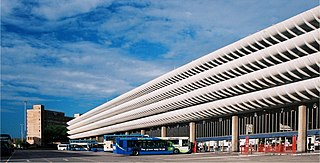 Preston bus station Bus station in Preston, Lancashire, England