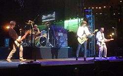 The Pretenders perform in Dubai, February 2007