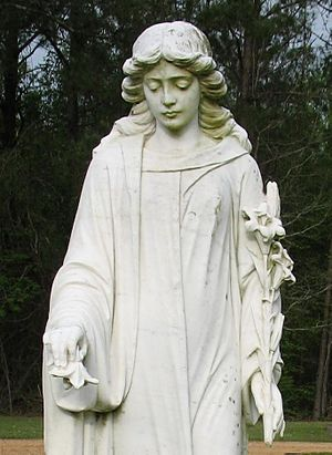 Monument at Midway Cemetery, Meadville, Mississippi.