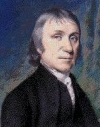 Ellen Sharples - Joseph Priestley, 1794, Ellen Sharples