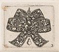 "Print, ""Pendant in the Form of a Bowknot,"" Plate 3 from ""Goldsmith Ornament Designs"", ca. 1648 (CH 18677083).jpg"
