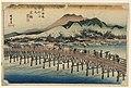 Print, Sanjo Bridge, Kyoto, in The Fifty-Three Stations of the Tokaido Road (Tokaido Gojusan Tsugi-no Uchi), ca. 1834 (CH 18608919-2).jpg