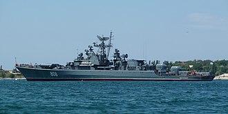 Krivak-class frigate - Image: Project 1135M Pytlivyy 2009 G1