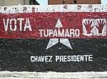 Propaganda electoral del Movimiento Tupamaro.
