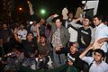 Protesters at Shahbag slogan.JPG