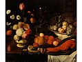 Pseudo-Simons - Still life with a flower piece, a bowl of fruit and a lobster.jpg