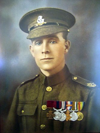 Huddersfield Rifles - Private Henry Tandey, VC, DCM, MM.