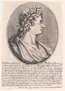 Publius Valerius Poplicola Roman aristocrat and consul in 508 BC and 504 BC who helped lead the overthrow of the monarchy