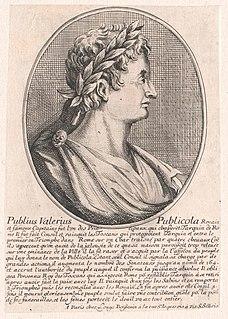 Publius Valerius Publicola Ancient Roman aristocrat and consul in 508 BCE and 504 BCE