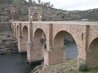 Puente de Alcántara, Cáceres Province, Spain. Pic 01.jpg