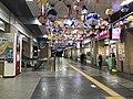Pufferfish lanterns in Shimonoseki Station.jpg