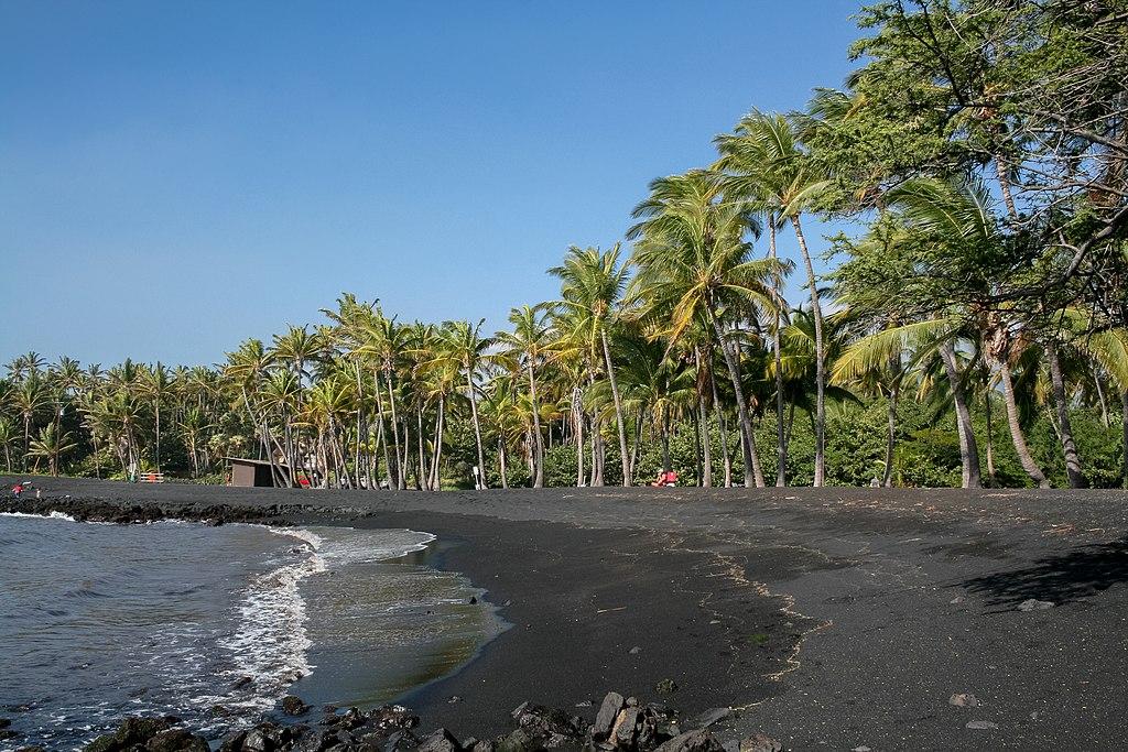 Punaluu Black Sand Beach, Hawaii, USA8