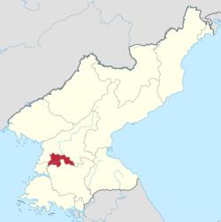 平壤市的位置图
