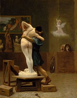 Pygmalion and Galatea (Gérôme) back