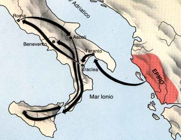 Pyrrhus route