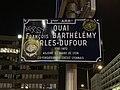 Quai Arlès-Dufour (Lyon) - panneau de rue (2°.jpg