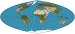 Quartic authalic projection SW.jpg