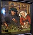 Quentin metsys, il pesatore d'oro con la moglie, 1514, 01.JPG