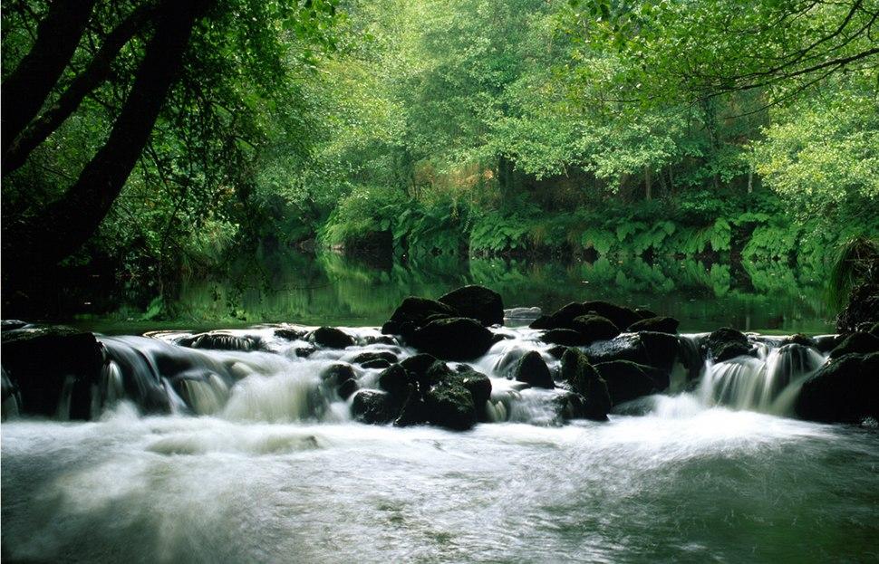 Río Mandeo ao seu paso por Aranga