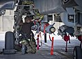RAF Armourers Fitting Paveway Bomb to Tornado GR4 in Afghanistan MOD 45156836.jpg