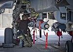 RAF Armourers Fitting Paveway Bomb to Tornado GR4 in Afghanistan MOD 45156836.jpg
